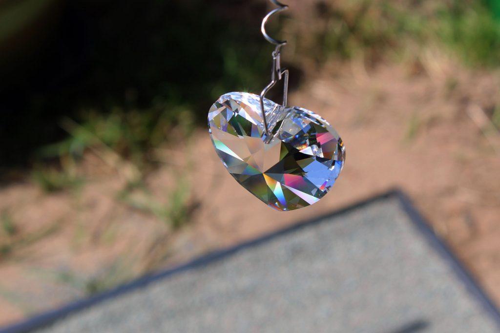 Swarovski kristal op graf